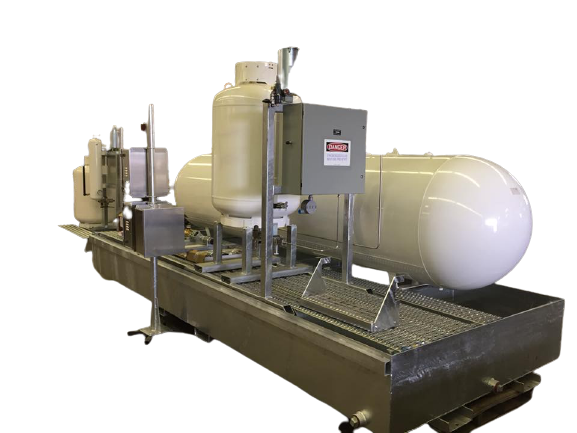 Pump injection system